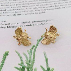 Kate Spade All Abuzz Bee Stud Earrings